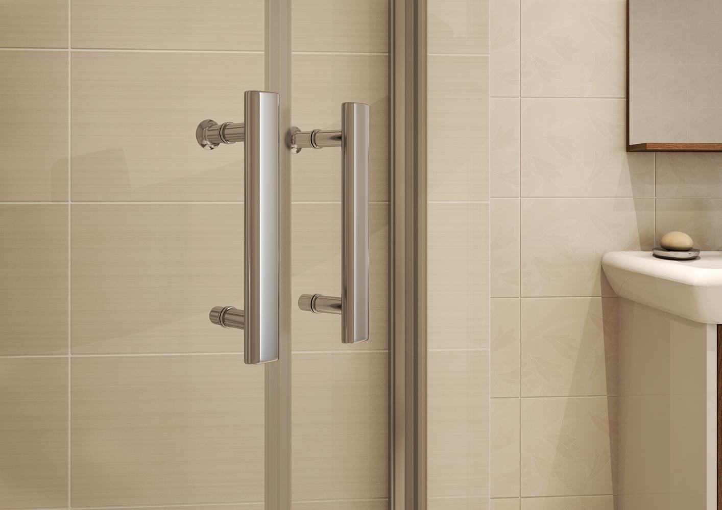 Элегантность и практичность душевой кабинки в маленькой ванной